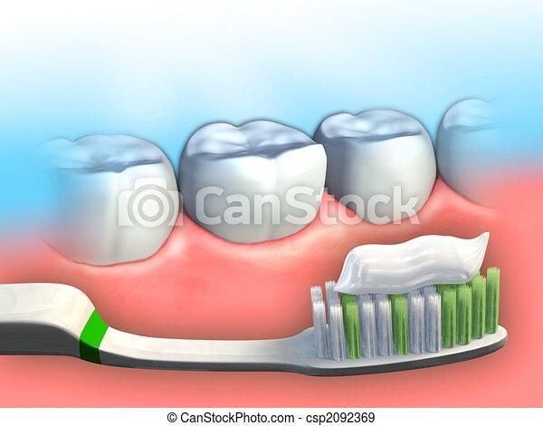 Dental hygiene - csp2092369