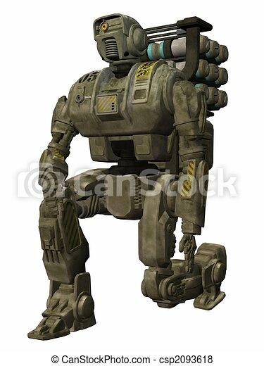 Drone Trooper - 3D Figure - csp2093618