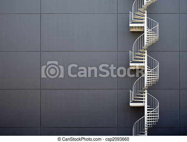 Emergency stairs - csp2093660