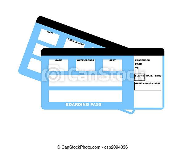 Airline tickets - csp2094036
