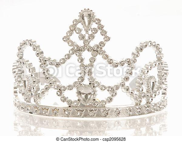 tiara or crown - csp2095628