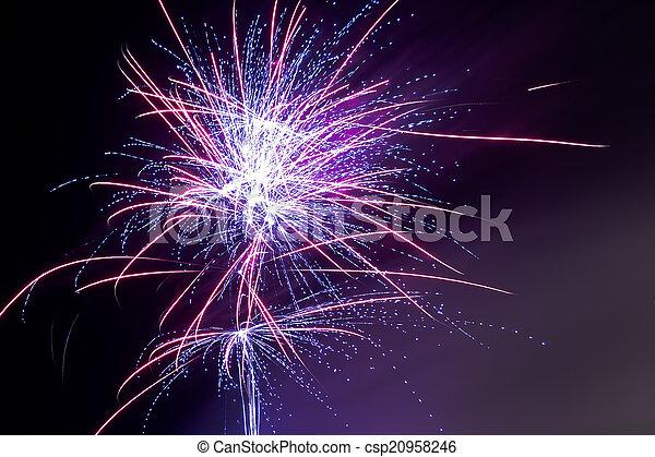 Fireworks - Purple Haze