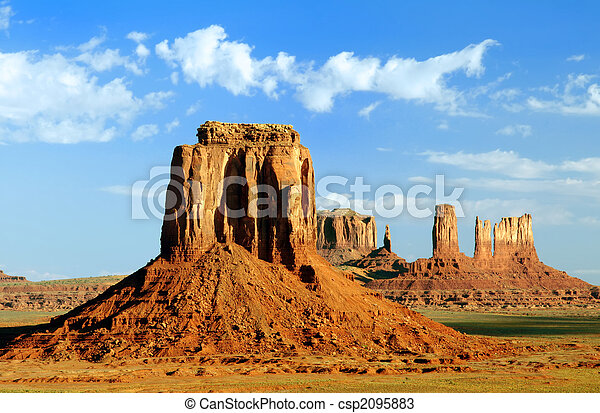 Artist\'s Point at Monument Valley Navajo Tribal Park. - csp2095883
