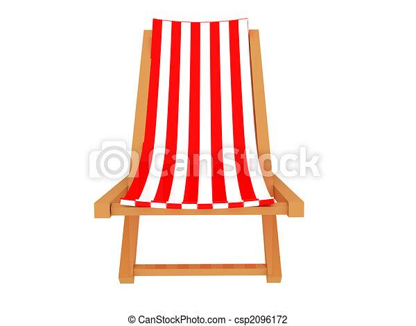 Clip art de chaise longue 3d render chaise longue for Chaise 3d dessin