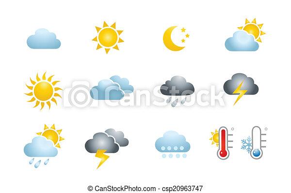 Weather Icons  - csp20963747