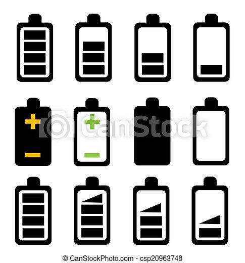 Battery icon - csp20963748