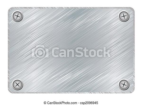 Small Metal Plaques Metal Plaque Silver Metal
