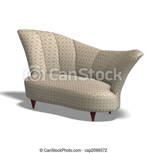 decorative modern sofa - csp2099372