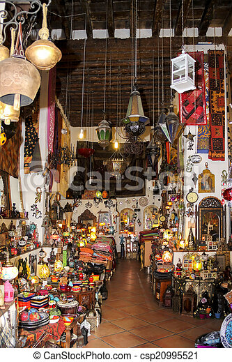 typical Moorish North African market
