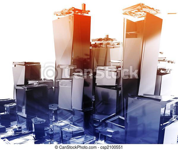 Exploding city - csp2100551