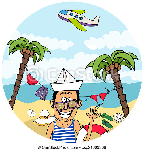 Summer clothing clipart