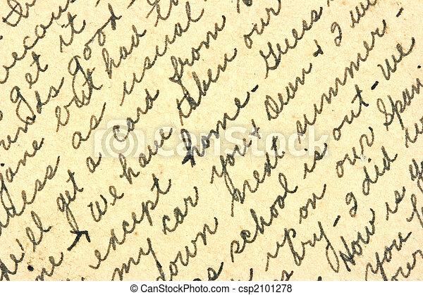 Handwriting - csp2101278