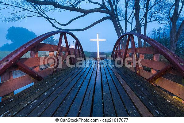 Salvation Bridge Cross - csp21017077