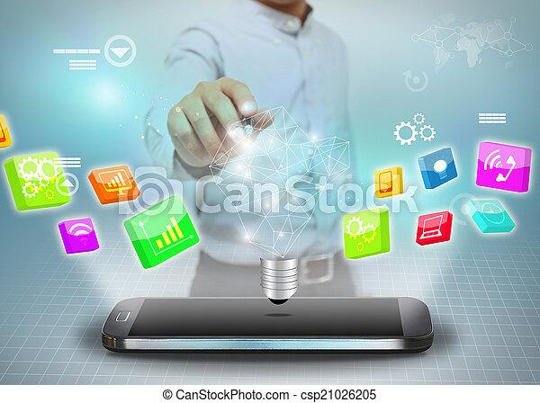 考え, ビジネス - csp21026205