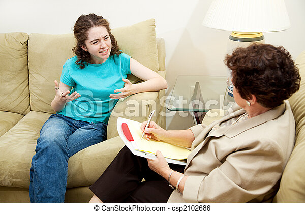 Therapy - Expression Frustration - csp2102686