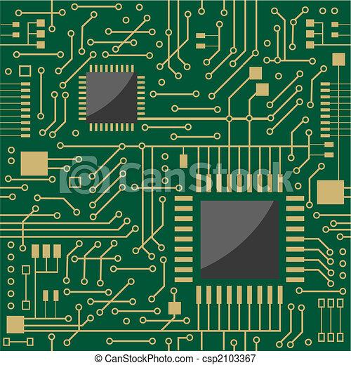 Seamless microcircuit - csp2103367