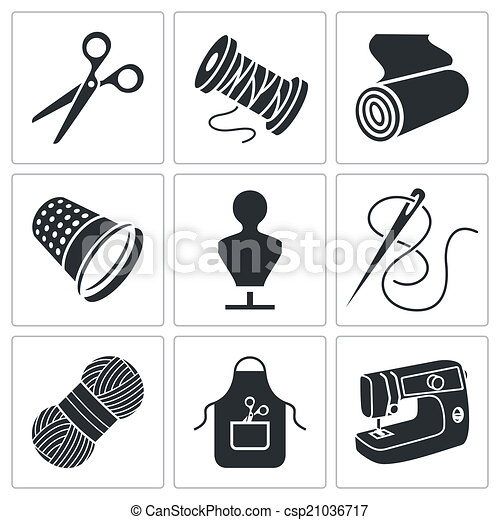 sewing clothing manufacture icons set royalty free free sewing clip art borders sewing clip art free downloads microsoft
