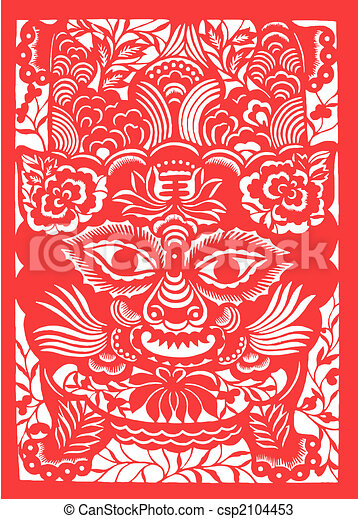 tiger, 黄道帯, 中国語, 年 - csp2104453