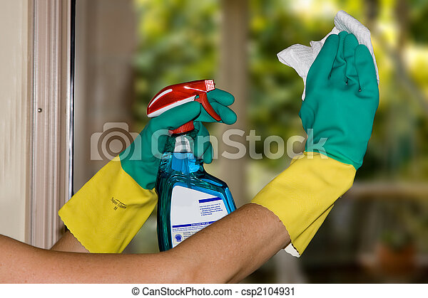 Cleaning windows - csp2104931