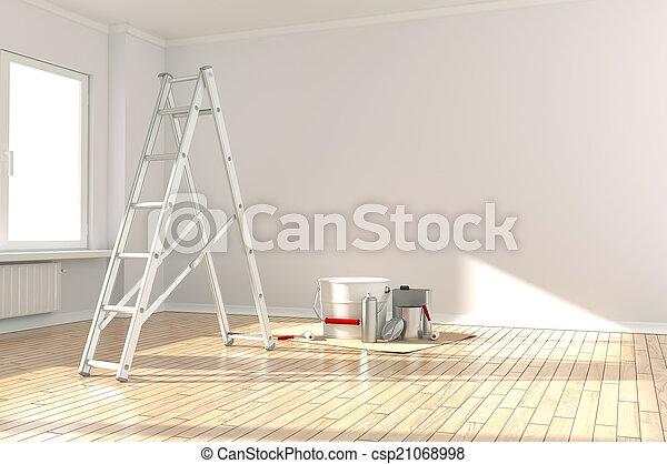 Hem, Renovering - csp21068998