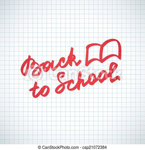back to school - csp21072384