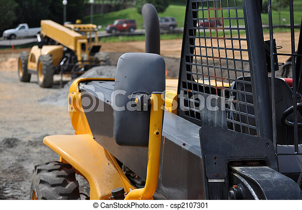 Two Construction Vehicles - csp2107301