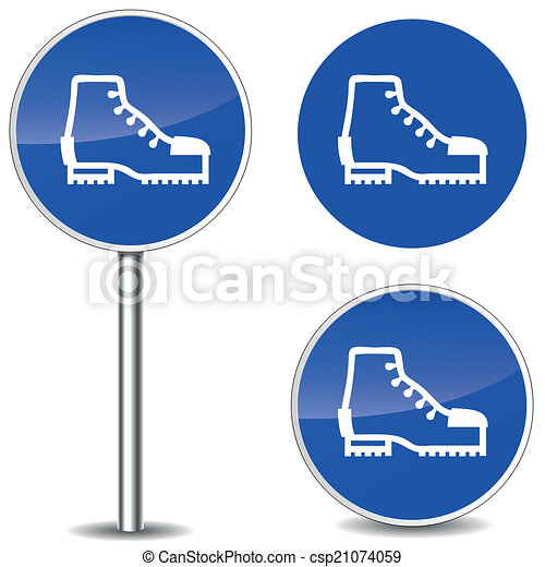 Safety Logos Vector Vector Vector Safety Shoes