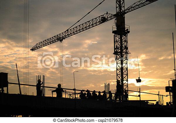 konstruktion - csp21079578