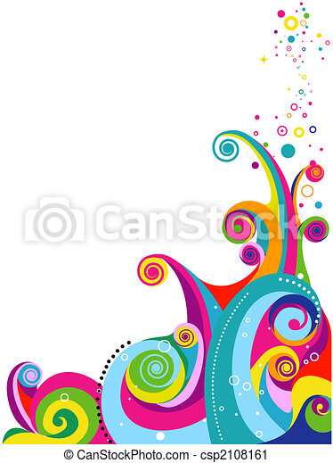 Abstract Wave Design - csp2108161