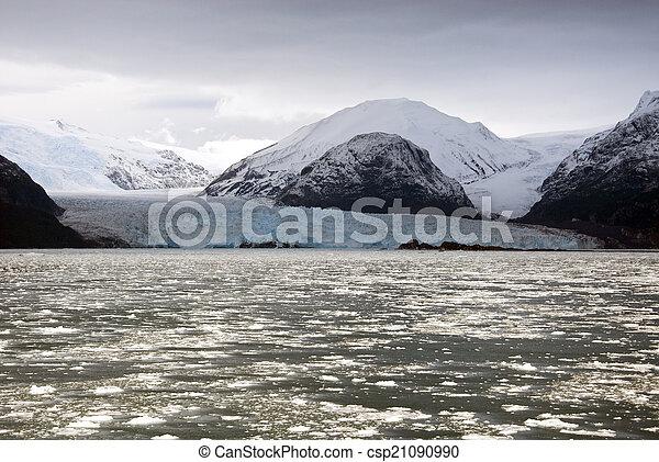 Chile - Amalia Glacier Landscape - csp21090990