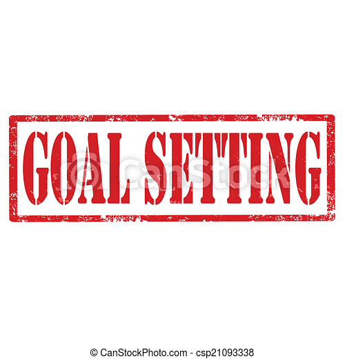 Goal Setting-stamp - csp21093338