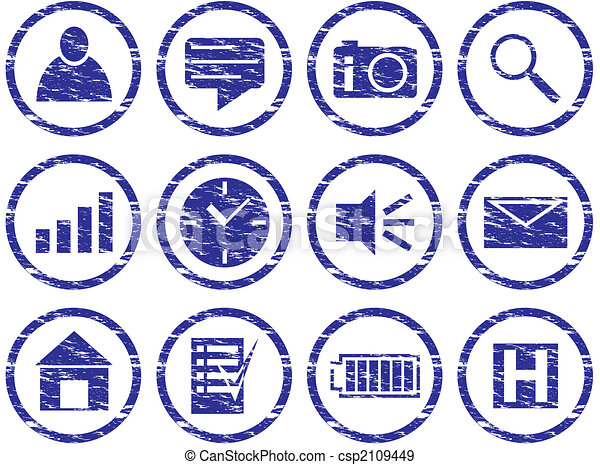 Gadget icons set. - csp2109449