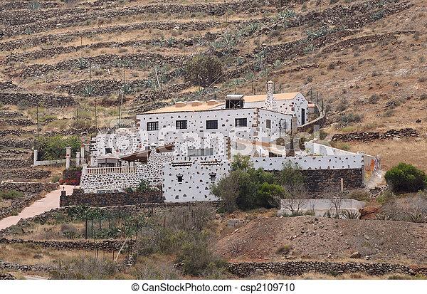 Rural villa on Canary Island Fuerteventura, Spain - csp2109710