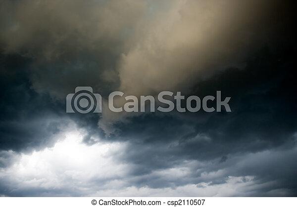 Gloomy clouds - csp2110507