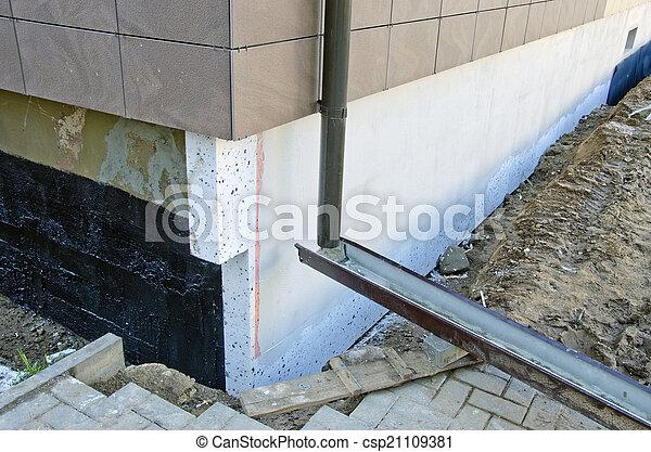 Images de isolation fondation thermique styrofoam for Isolation thermique maison