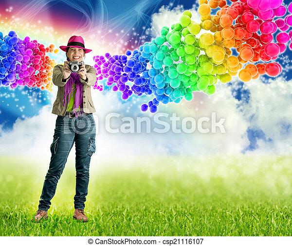 explosion of creativity