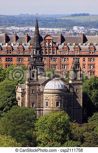 St Cuthbert's Church, Princes St Gardens, Edinburgh - csp2111758