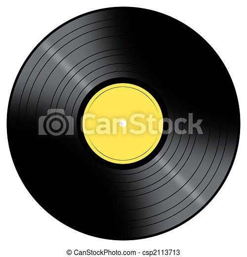 Music Record - csp2113713