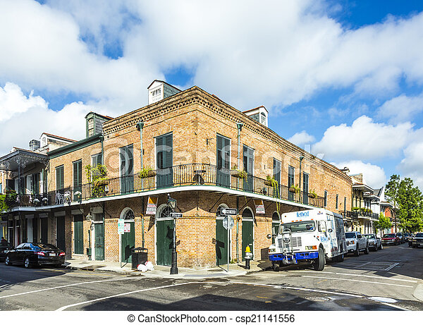 建物, 訪問, フランス語, 歴史的, eople, 四分の一 - csp21141556