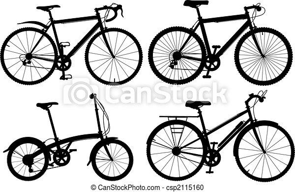 Bicycles - csp2115160
