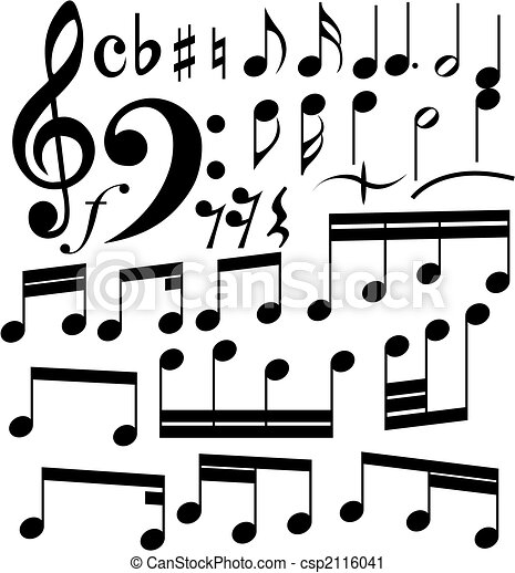 notes set - csp2116041