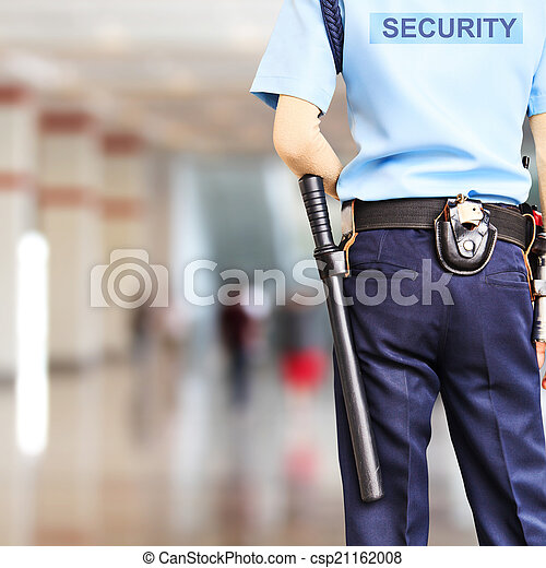 sicurezza, guardia - csp21162008