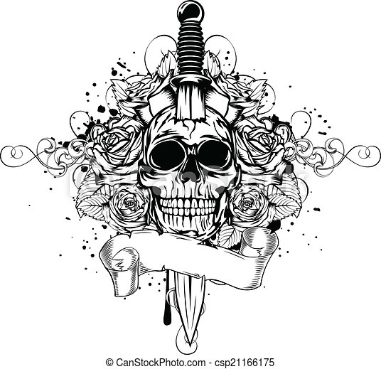 Skull With Horn 14755494 in addition Knife Templates 3 in addition Trumpet Clip Art 97 also Blog Page 13 as well Set Of Oriental And European Daggers 5978367. on knife designs html