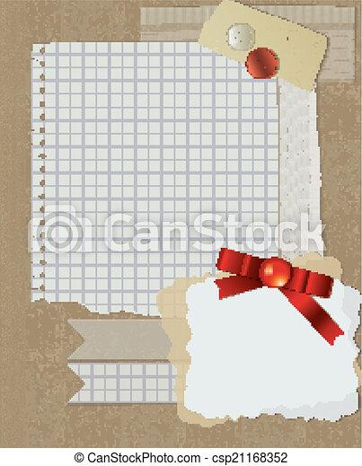 scrapbooking christmas design - csp21168352