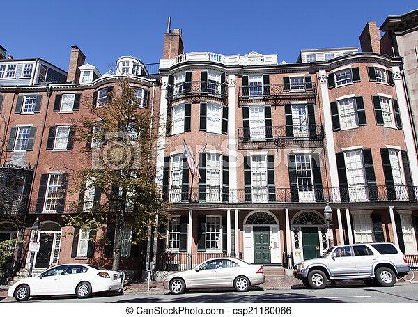 boston, storico - csp21180066