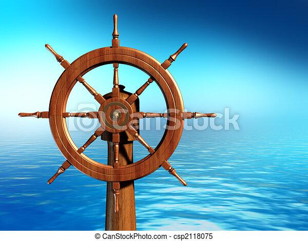 Ship wheel - csp2118075
