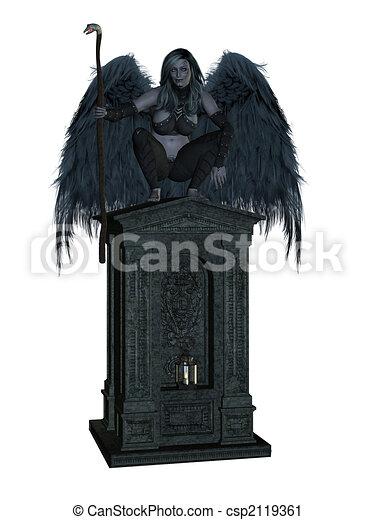 Angel of Death - csp2119361