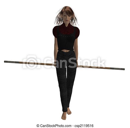 Woman Warrior - csp2119516