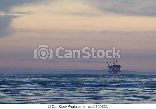 offshore oil rig - csp2120833