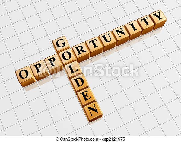 golden opportunity like crossword - csp2121975